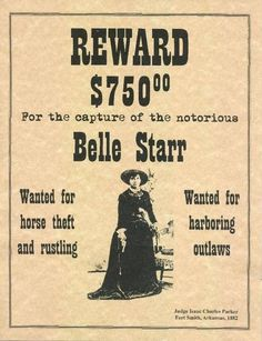 Wanted Posters of the Wild West 24 Trading Card Set image 1 Vintage Ads, Vintage Photos, Vintage Photographs, Wild West Outlaws, Belle Starr, Famous Outlaws, Old West Photos, Into The West, American Frontier