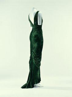 Evening Dress Edward Molyneux, 1935 The Kyoto Costume Institute