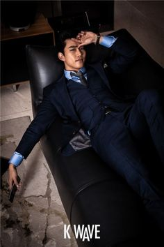 Taecyeon suits up for 'K Wave' | allkpop LOVE HIM IN A SUIT!!