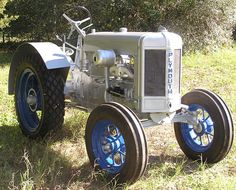 1934 Plymouth tractor serial #A166BM1 owned by Frank and Jody Tyson