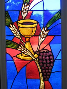 Stained Glass Eucharist - 21 New Diy Stained Glass Window Inspiration Stained Glass Church, Stained Glass Paint, Making Stained Glass, Stained Glass Designs, Stained Glass Patterns, Stained Glass Windows, Church Banners, Glass Wall Art, Communion