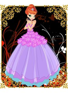 Winx Club - bloom ball gown