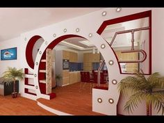 Living Room Partition Design, Room Partition Designs, Bedroom False Ceiling Design, False Ceiling Living Room, Home Entrance Decor, House Entrance, Tv Wall Decor, Ceiling Decor, Wc Decoration