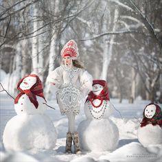 Snowman by Margarita Kareva on 500px