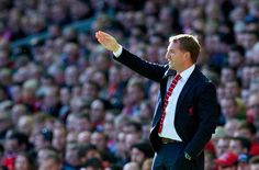 Brendan Rodgers hails Liverpool character in vital Premier League win This Is Anfield, Brendan Rodgers, West Brom, Barclay Premier League, Premier League Matches, Liverpool Fc, Victorious, Character, Lettering
