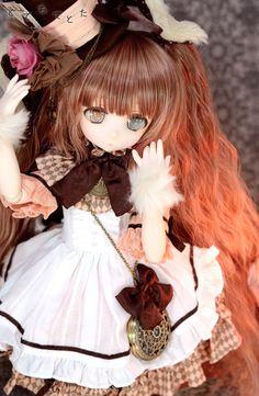 Totechi'sDDH-01 [SW skin] custom head + Eye + wig | Jaysama