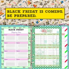 What are you going to wait in line for during this Black Friday? Be prepared for all the sales with this Black Friday Planner & Cyber Monday Planner. https://www.etsy.com/listing/488934861/black-friday-planner-printable-a5-cyber