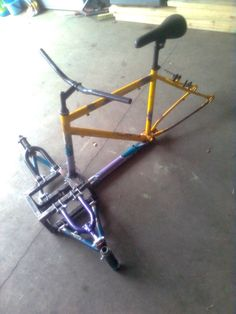 Spyder-like Reverse Trike : 8 Steps - Instructables Build A Go Kart, Diy Go Kart, Build A Bike, Electric Tricycle, Electric Scooter, Eletric Bike, Three Wheel Bicycle, Trike Scooter, Mobiles