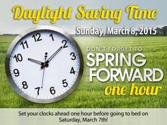 Gathering My Roses: Daylight Saving Time -- Get ready with these great tips!