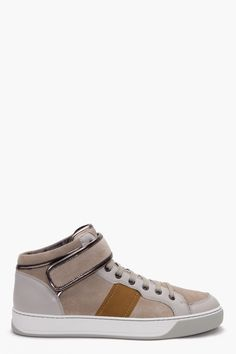LANVIN MID HIGH Sneakers