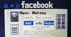 Use FB to create bulletin board or let the students create a page as an assignment for a famous person, inventor, etc.