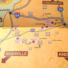 The kentucky bourbon trail tips and advice bourbon for Ky bourbon trail craft tour map