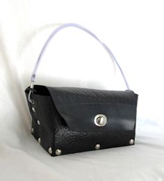 Upcycled Inner Tube Purse Box Bag by GroovyGarbage on Etsy, $44.00