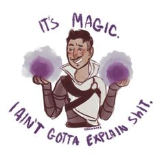 Dragon Age: Inquisition - Dorian\'s Magic by 1000butts