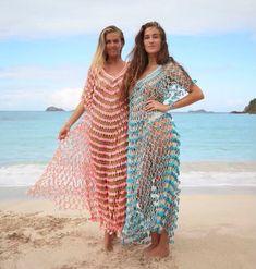 Feeling like spring in our Flower Power dresses  #handcrochet #maxidress #tulum #beachbabes #resortwear #handcrochet #flowerpower #shopnow