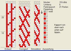 6 around bead crochet rope pattern Bead Crochet Patterns, Bead Crochet Rope, Beading Patterns, Seed Bead Jewelry, Beaded Jewelry, Loom Bracelets, Brick Stitch, Loom Beading, Crochet Necklace