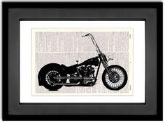 neat Harley Davidson art