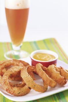 onion rings na cerveja