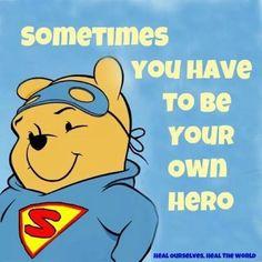 Hero Winnie the Pooh