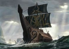 ironborn longship - Google Search