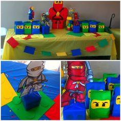 Ninjago Lego Birthday party ideas http://daisycelebrates.bigcartel.com