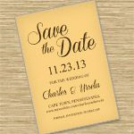 Freebie Friday - Save-the-Date Printable Postcard