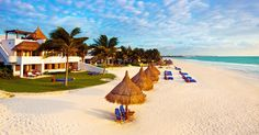 Maroma Resort and Spa, Playa del Carmen, Mexico #luxurylink - I can imagine worse places to be :o