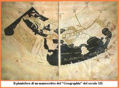 The latin translation of Ptolemy's Geography by Emanuele Chrysoloras in 1406