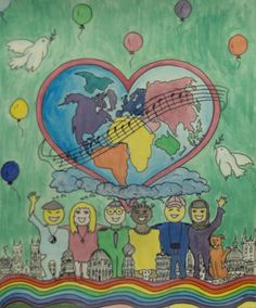 Finalist from Zurich: Lions Clubs International 2012-2013 Peace Poster Contest