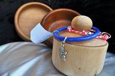 Bracciale rigido e scatole in legno di cirmolo realizzate a mano al tornio