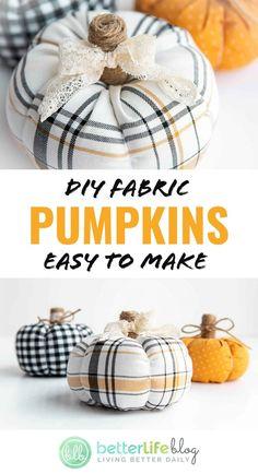 Easy Fall Crafts, Fall Diy, Holiday Crafts, Diy Thanksgiving Decorations, Fall Decorations Diy, Harvest Decorations, Diy Crafts, Diy Pumpkin, Pumpkin Crafts