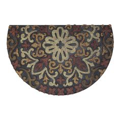 Mohawk Home Doorscapes Estate French Medallion Red Door Mat - 4835 17038 023035