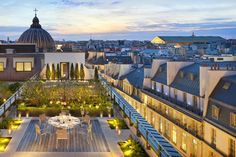 Mandarin Oriental, Paris Opens Its Delightful Garden For The Summer.  Mandarin Oriental, Paris is delighted to announce that its stunning courtyard garden is open for the summer season.  Providing one of the most charming green spaces within the city for guests and locals to dine, enjoy cocktails and socialise, the courtyard garden is now open daily from 11am – 2am.