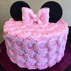 New birthday cake fondant ideas minnie mouse 22 Ideas Minnie Mouse Birthday Decorations, Minnie Mouse Theme Party, Mickey Mouse Cupcakes, Minnie Mouse First Birthday, Bolo Minnie, Pink Minnie, Baby Birthday, Birthday Ideas, Mickey Birthday