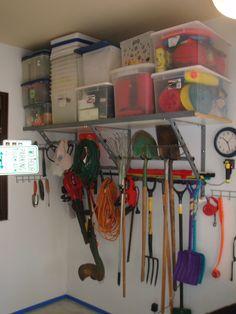 Garage Shelving Aptos Yard Tools and Bins