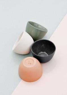 new arrival — stacking ceramic pinch bowl set