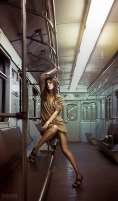 Metro / Sexual 2 by Maxim Serebryakov on Fashion Photography Poses, Fashion Poses, Urban Photography, Lifestyle Photography, Editorial Photography, Portrait Photography, High Fashion Shoots, Street Photography People, Photoshop For Photographers
