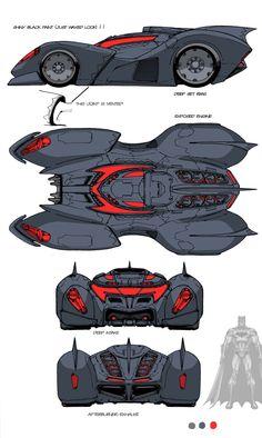 "batmobile from ""Batman: the Animated Series"" comments and critique welcome. Batman Arkham City, Im Batman, Spiderman, Batman Cowl, Batman Stuff, Batman Robin, Gotham City, Batman Wallpaper, Batman Artwork"
