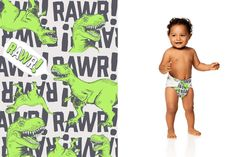 Honest Diapers in T-Rex #ClassicCollection #effective #safe  #delightful