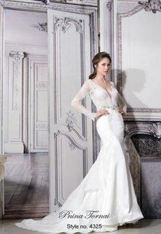 5d627a84cd7 Sheath Wedding Dress by Pnina Tornai Pnina Wedding Dresses