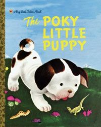 """Before you know who and the Sorcerer's Stone came along, """"The Poky Little Puppy"""", written by Jannette Sebring Lowery and illustrated by Gustaff Tenggren, held the honor of being the best-selling children's book of all time."""