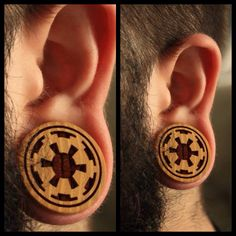 Star Wars plugs from Modifika in various sizes. Made in America.