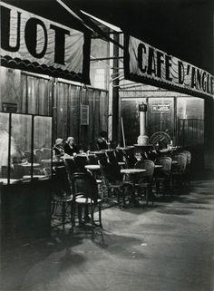 Café d'Angleterre Paris 1931  Brassaï