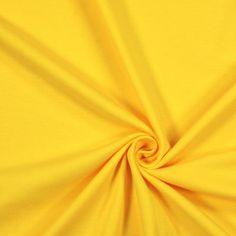Jersey Interlock 10 - Coton - jaune - 184 g/m² - 14,95 €/m