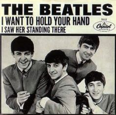 "On this date in 1963, The Beatles' first U.S. single was released, the double-sided monster pairing of ""I Want To Hold Your Hand"" and ""I Saw Her Standing There."""