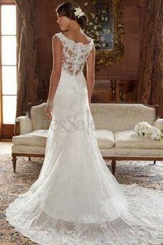 Lace Wedding Back Detail