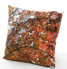 Silk cushion printed in Pin Oak design Cushions, Throw Pillows, Silk, Trending Outfits, Printed, Unique Jewelry, Handmade Gifts, Vintage, Etsy