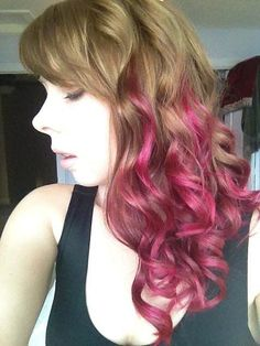 Raspberry Ringlets-maybe a blue instead