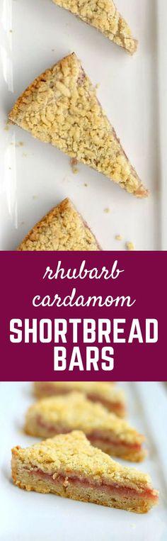 Rhubarb Cardamom Sho