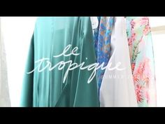 Journey with us behind the scenes of the photoshoot for our new #Summer collection, #LeTropique! #chloeandisabel #video